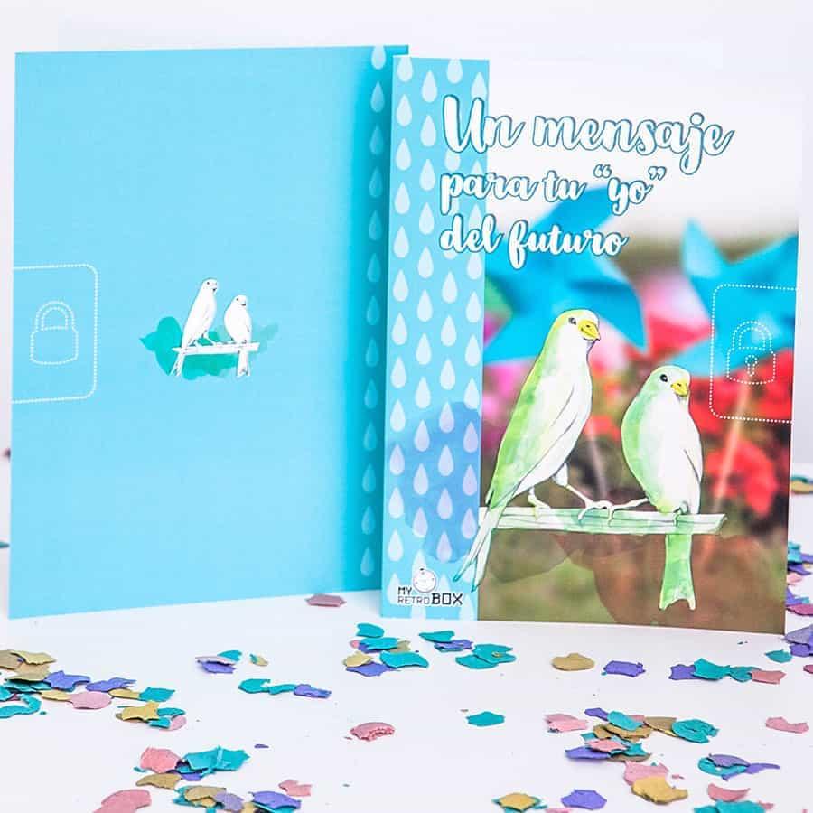 Cartas pareja boda Retrobox Sí Quiero