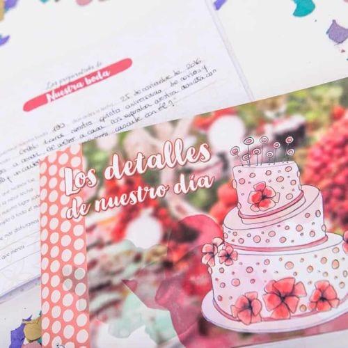 Diario boda Retrobox Sí Quiero