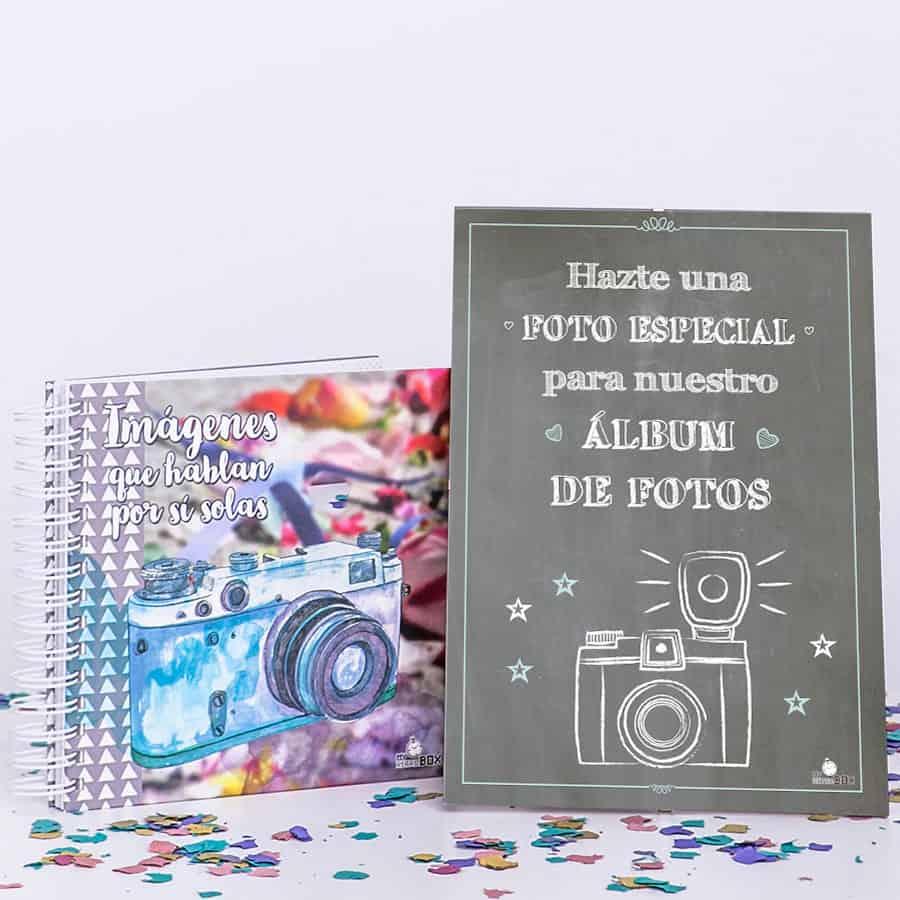 Lámina libro firmas para boda: Retrobox Sí Quiero