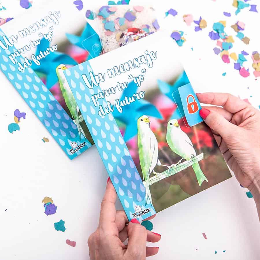 Precinto cartas boda Retrobox Sí Quiero
