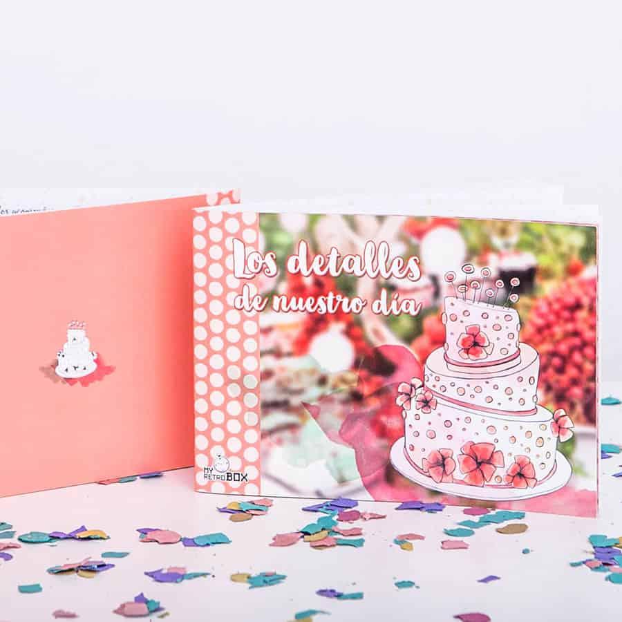 Regalo boda: diario de detalles