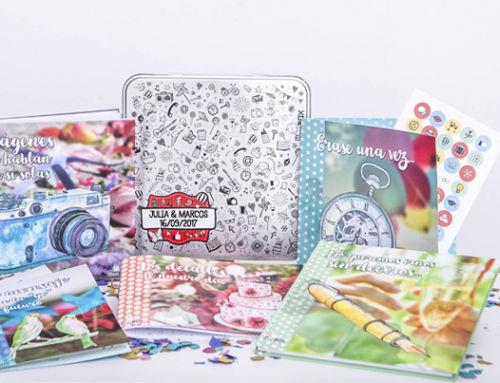 Novedades en nuestros regalos para bodas: ¡renovamos la Retrobox Sí Quiero!