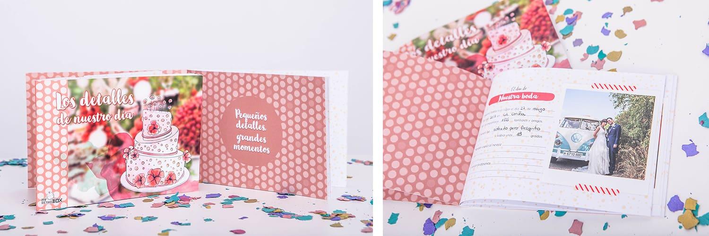 Regalos para bodas con la nueva Retrobox Sí Quiero: Diario de novios