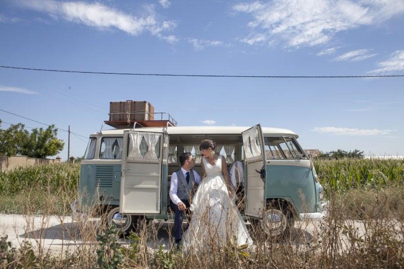 Retrobox Retroboda auto egalo de boda