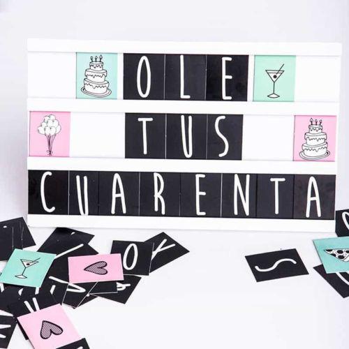 Caja de letras DIY MyRetrobox