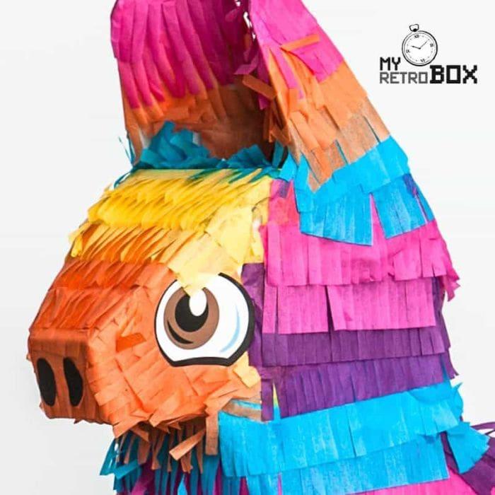 Detalle burrito piñata | MyRetrobox