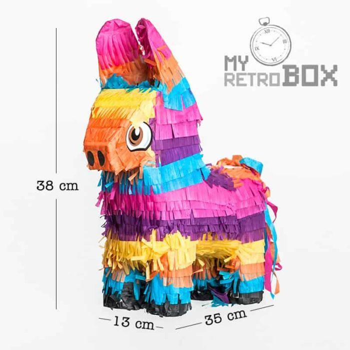 Medidas burrito piñata MyRetrobox