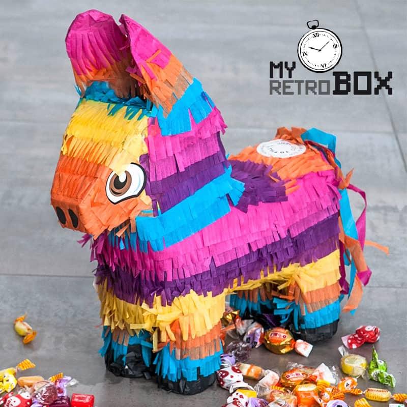 Regalo cumpleaños burro piñata
