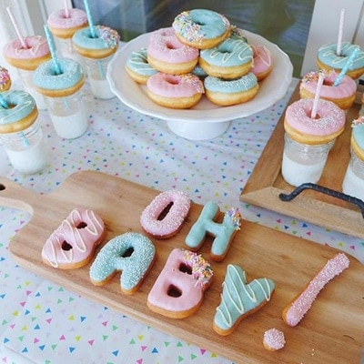 Donuts Gender Reveal Party