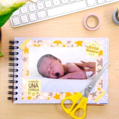 Ejemplo scrapbooking bebes Hola Mundo