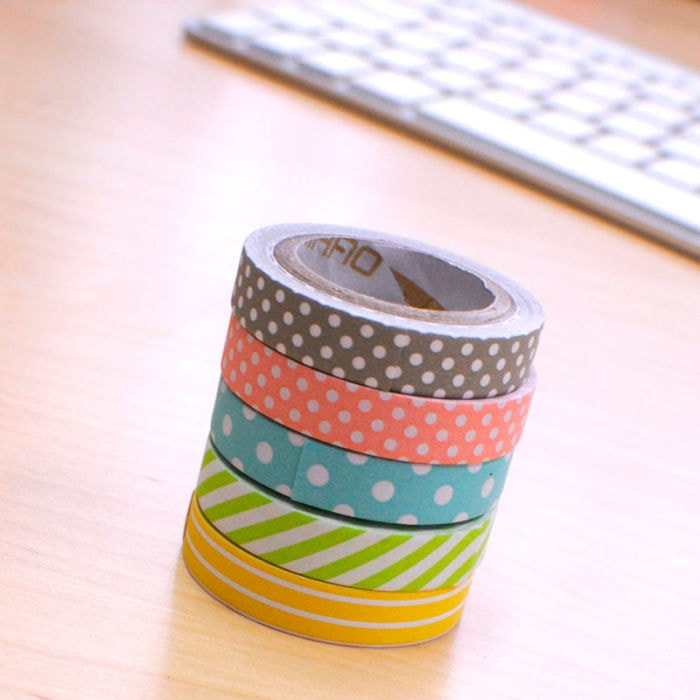 Washi-tapes colores