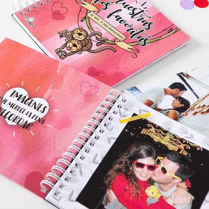 Álbum de fotos Retrobox Amor: regalo de Navidad para tu novia