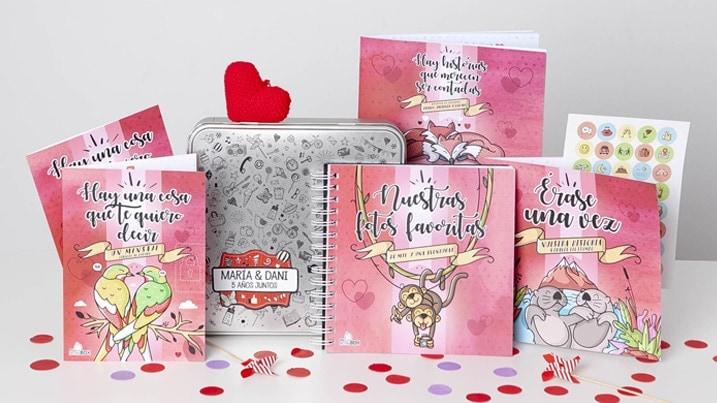 Regalo de Navidad para tu novia: Retrobox Amor