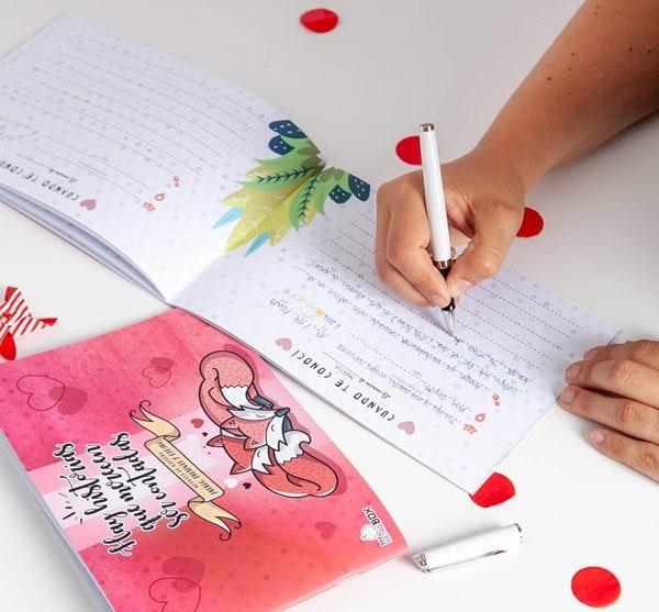 Diario de pareja: Regalo para el primer aniversario de novios
