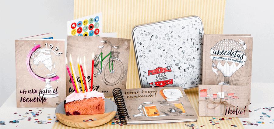 Retrobox regalo 60 cumpleaños