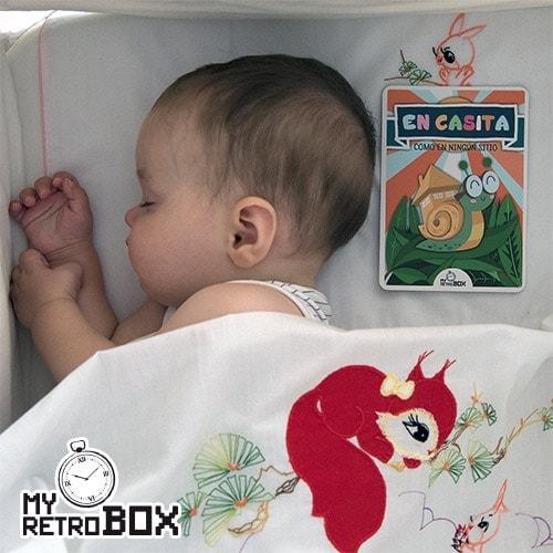 Bebé tarjeta MyRetrobox