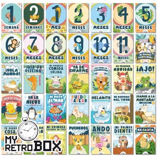 Cartas primer año bebé MyRetrobox