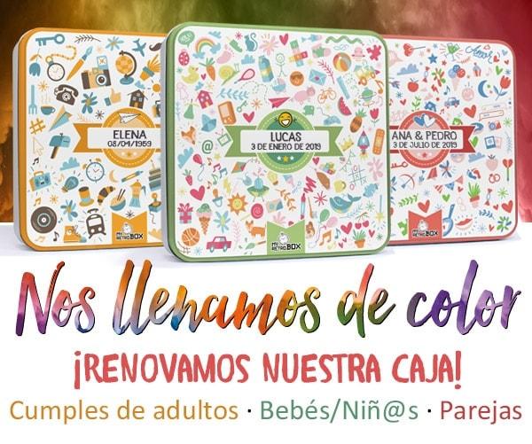 Nueva caja a color MyRetrobox