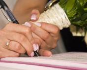 Libro de firmas para bautizo