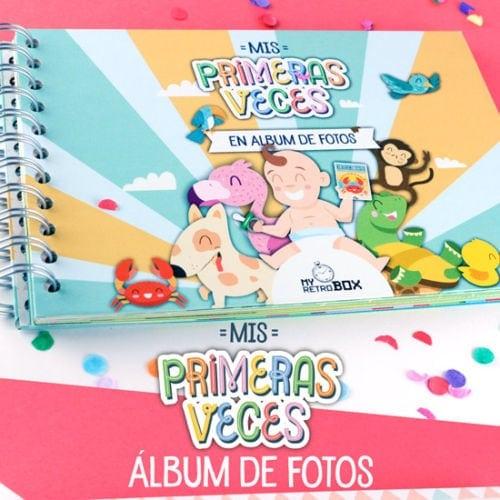 """Álbum fotos bebé """"Mis Primeras Veces"""""""