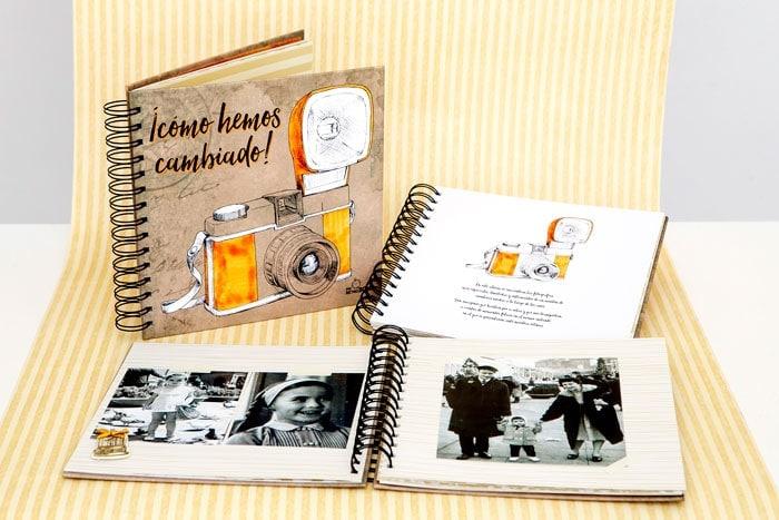 Ideas para las bodas de oro de tus padres: álbum de fotos