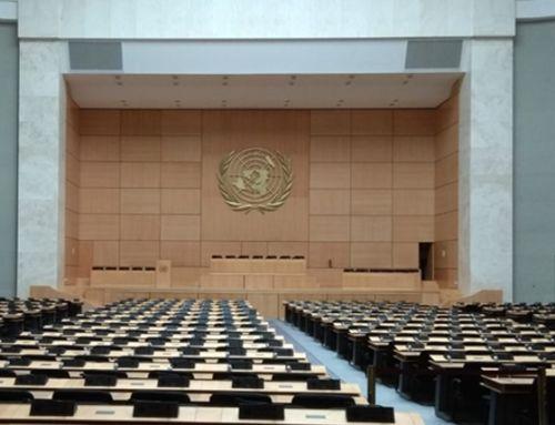 La cápsula del tiempo del Palacio de las Naciones