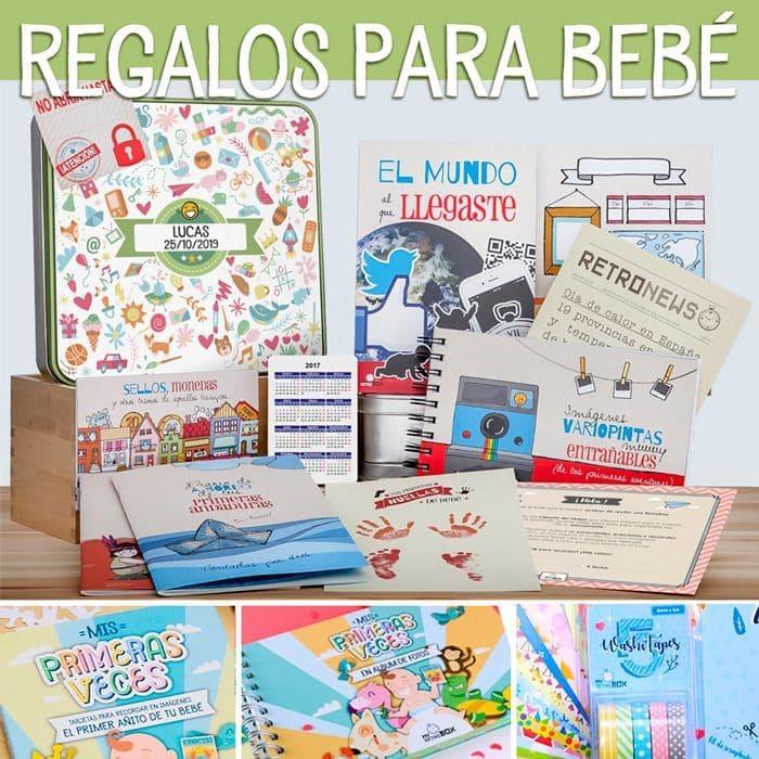 Baby Retrobox | Regalos originales para bebes
