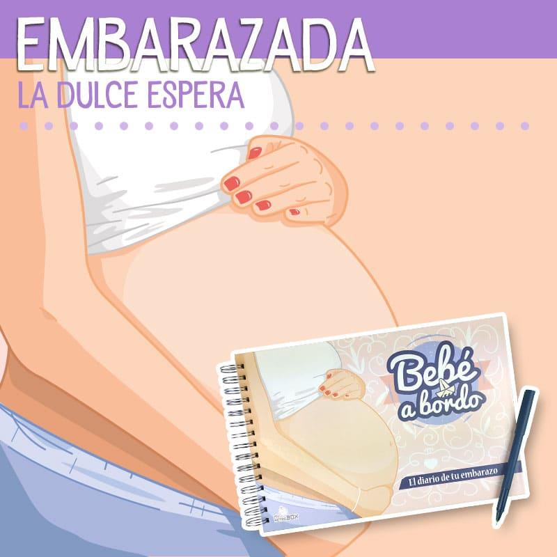 Diario de embarazo Bebé a Bordo de MyRetrobox