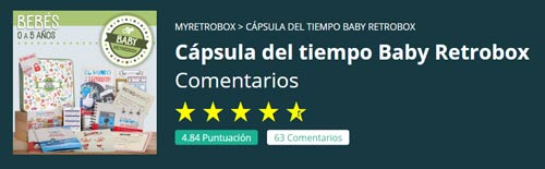 Valoraciones Baby Retrobox
