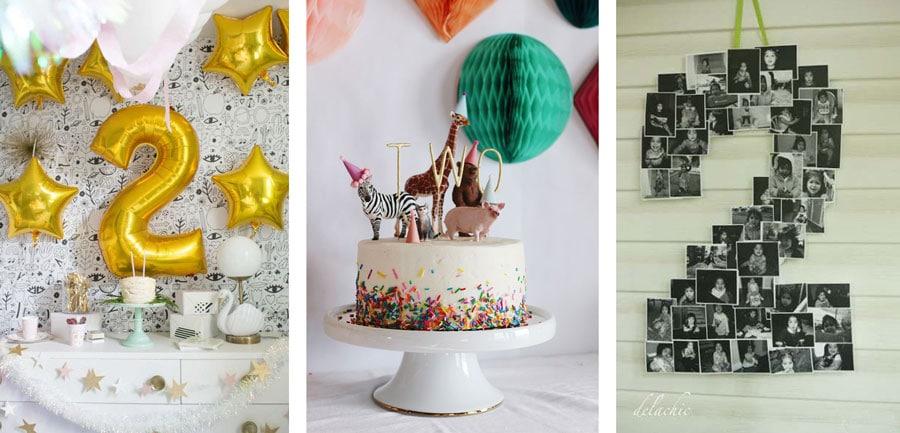 Ideas para el segundo cumpleaños