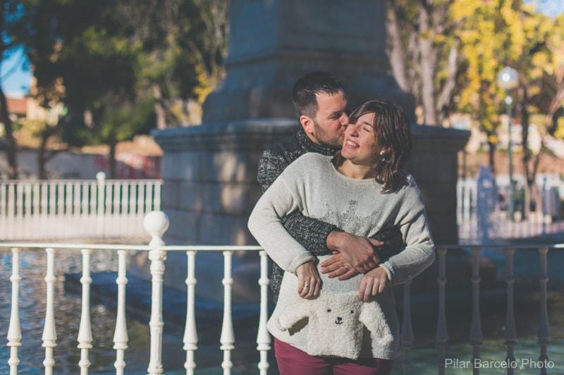 Ideas fotografías embarazada con pareja